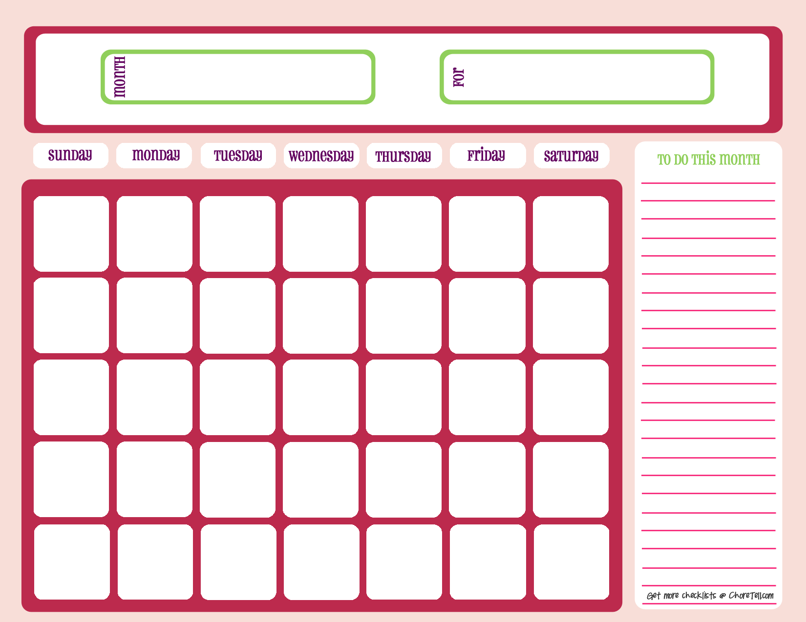 Calendar Planner Sample : Weekly planner template samples of schedule calendar
