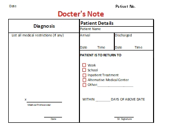 Doctors-Note-Template