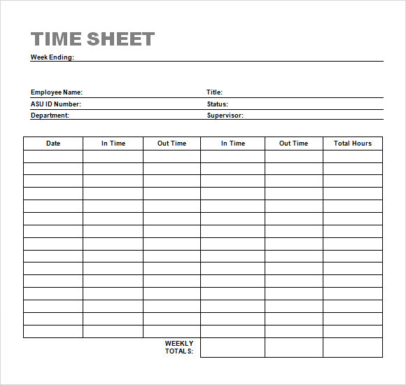 timesheet template timesheet calculator all form templates. Black Bedroom Furniture Sets. Home Design Ideas