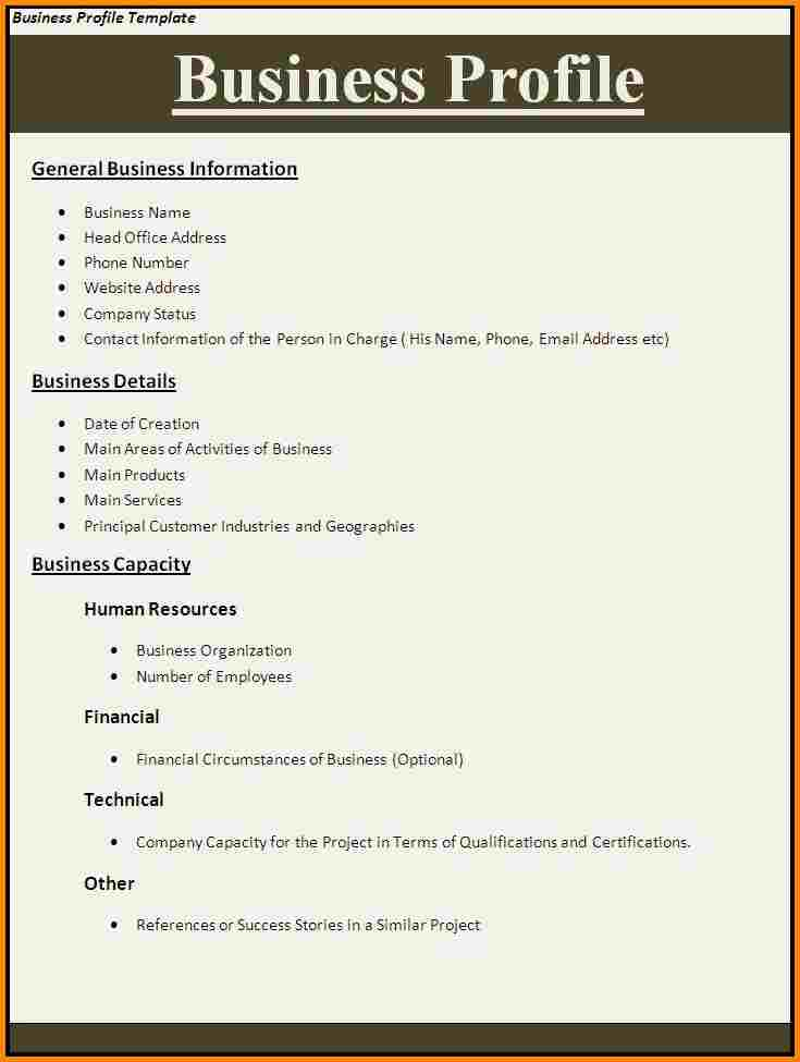 company-profile-format-business-profile-template