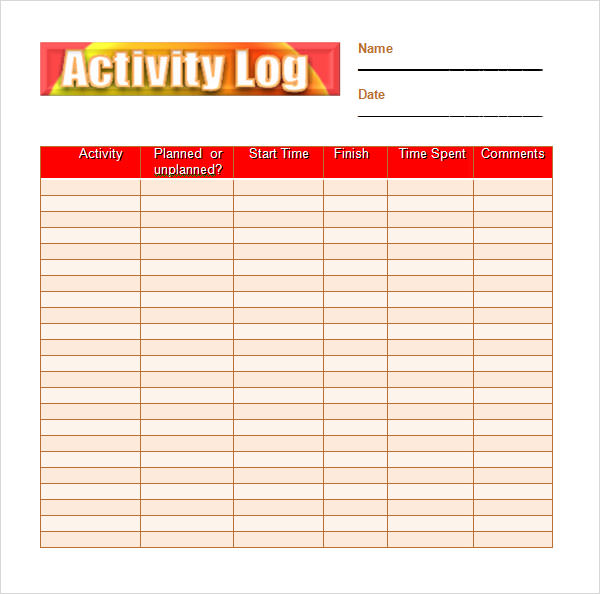colorful-activity-log