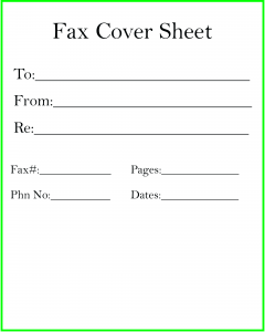 Premium Fax Cover Sheet Templates
