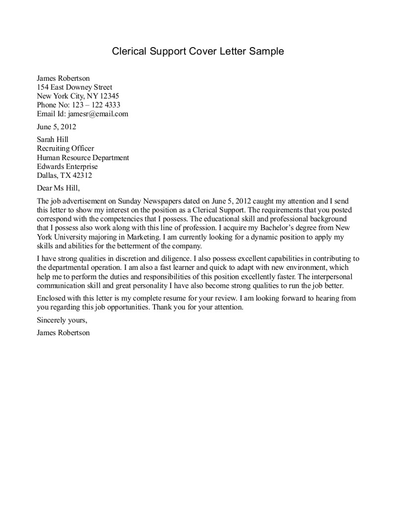 cover-letter-for-clerical-position-clerical-support-cover-letter-sample