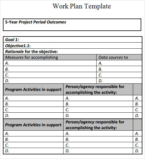 Free Business plan templates samples 40 formats and examples – Sample Contingency Plans