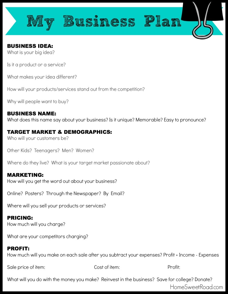 Free Business Plan Templates Samples 40 Formats And