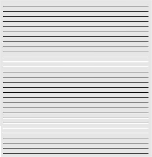 Template-for-Lined-Paper