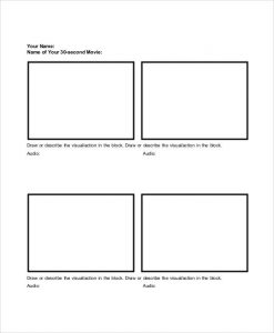 Basic-Storyboard templates