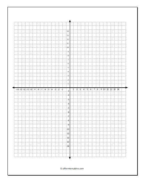 Coordinate-grid-paper