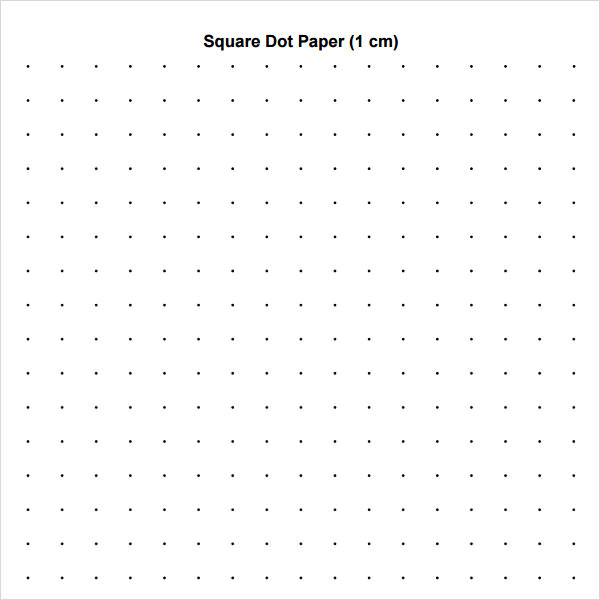 Square-Dot-Paper-Template