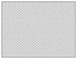 Printable Isometric Paper Landscape Beatiful