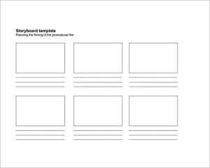 storyboard templates a3