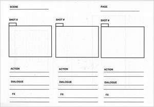 storyboard templates for photographers