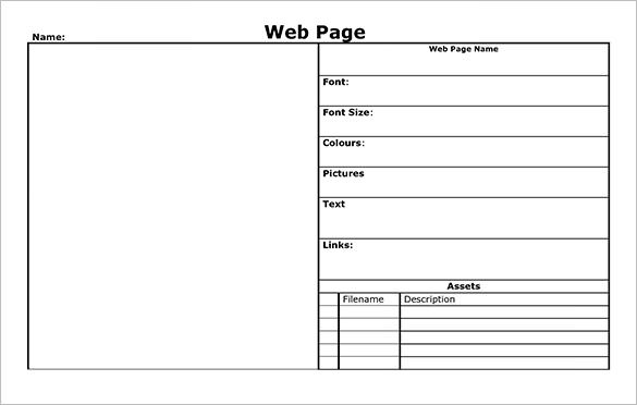 storyboard layout example