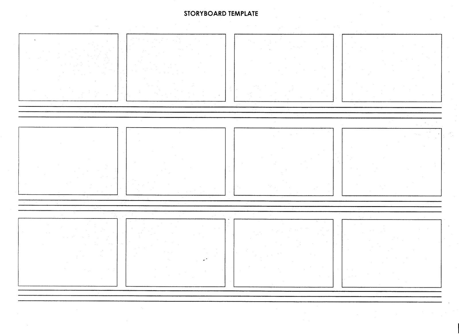 script storyboard templates