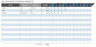 Project schedule templates 20 formats examples guide for Car payment schedule template