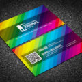 Clean and Creative Multi color Business Card Template