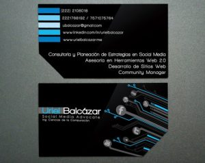 Clean and Minimal Creative Business Card Design