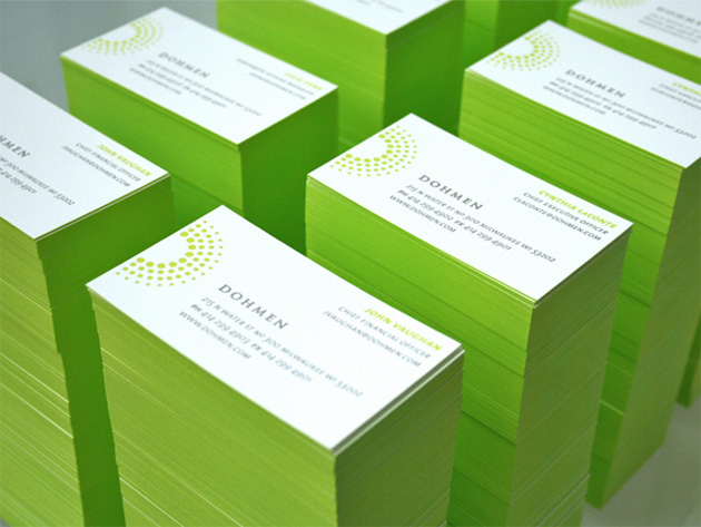 Cool and Refreshing Business Card Template