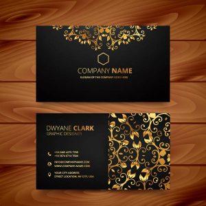 Gold-Design-Business-Card