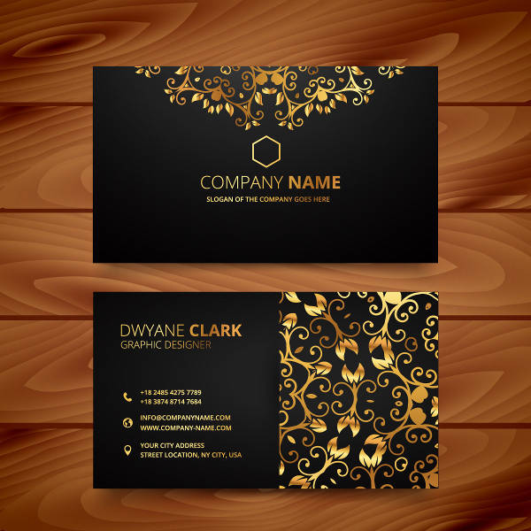 Gold-Design-Business-Card