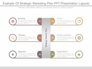 Layout Marketing Plan Strategy in PPT