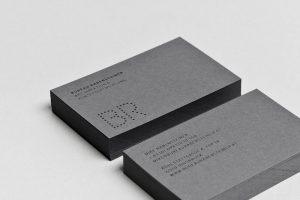 Minimal Color Dot Business Card Template