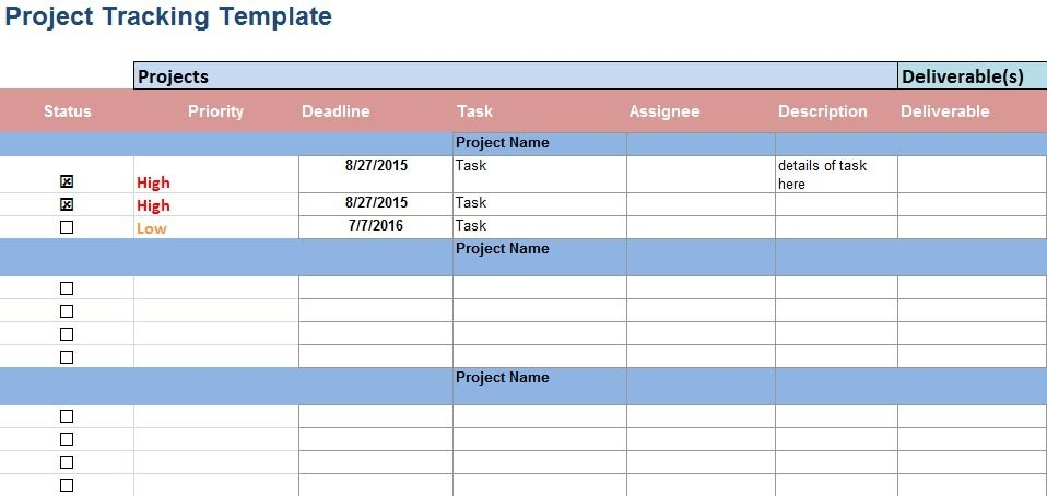 managing multiple projects template - project schedule templates 20 formats examples guide