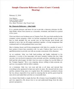 Sample-Character-Reference-Letter for court hearing