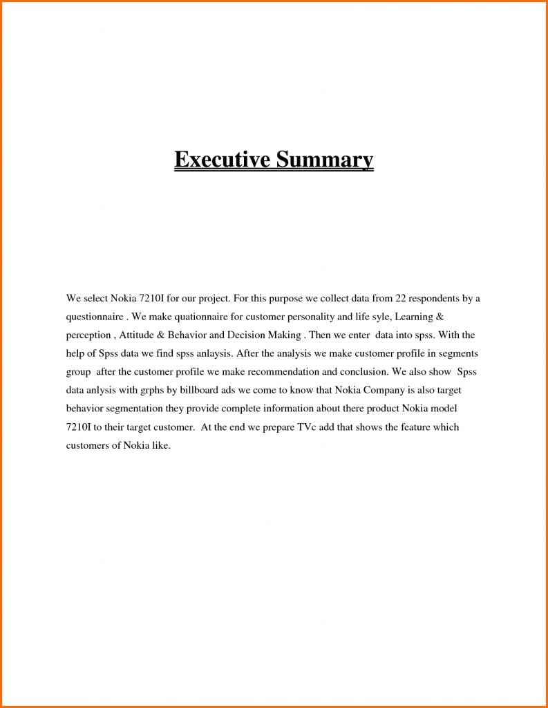 example-executive-summary-format
