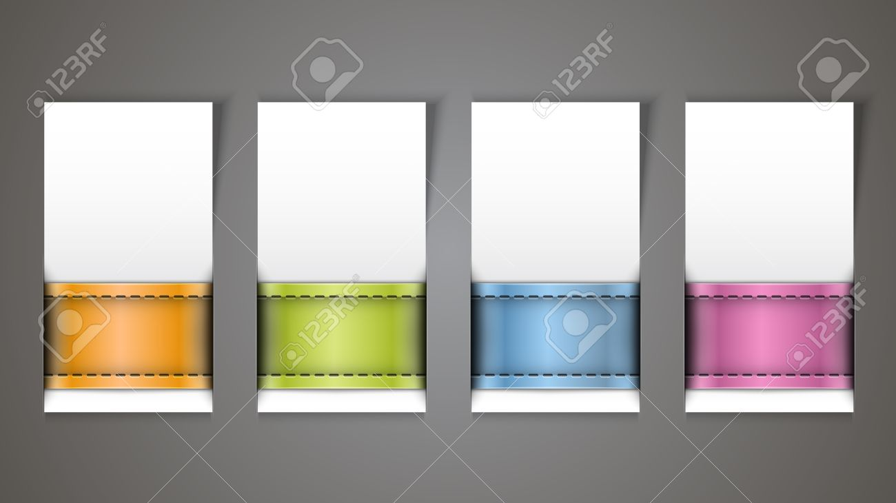 Advertising Blank Banner Template