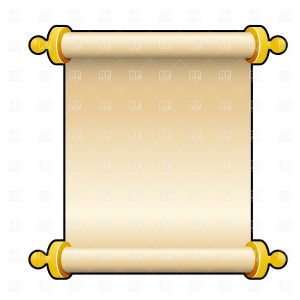 Ancient Blank Banner Template