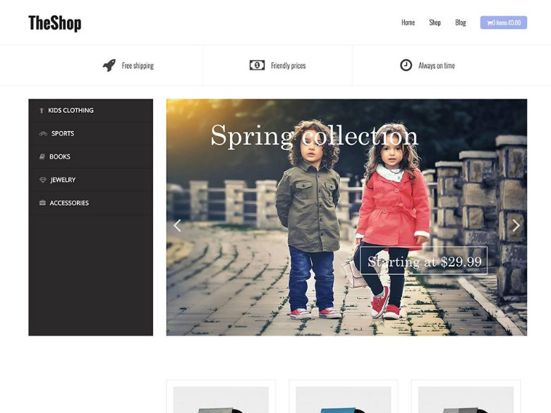 Best WordPress Ecommerce Themes Free