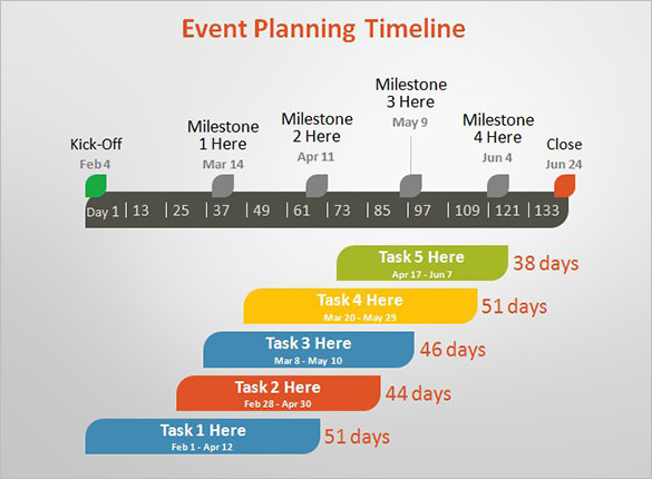 Event Planning Timeline Template