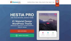 Hestia Pro WordPress Theme