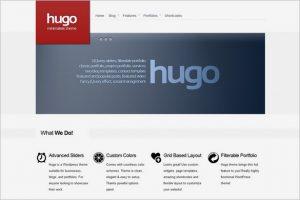 Hugo WordPressTheme