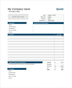 QuoteTemplate