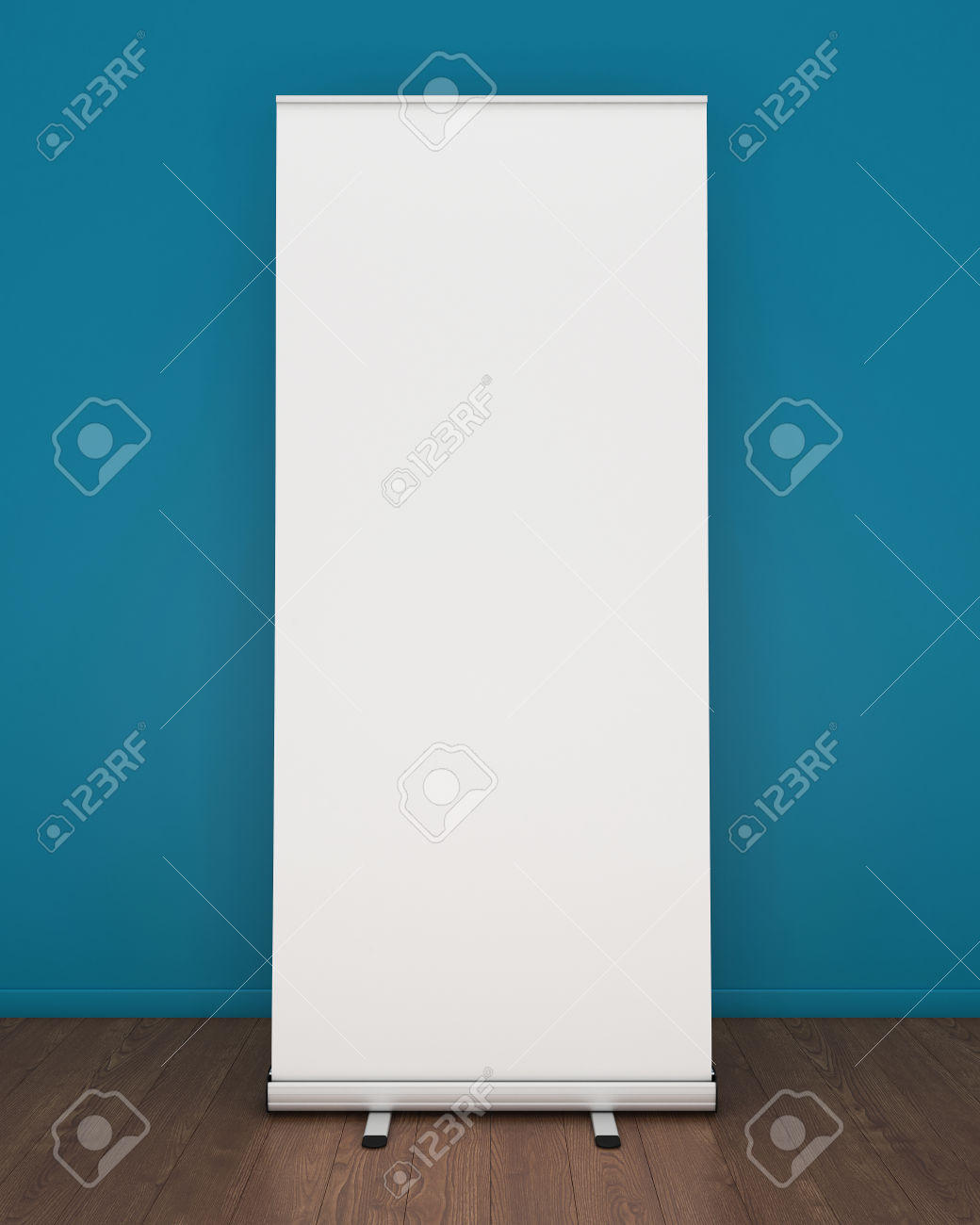 Roll Blank Banner Template