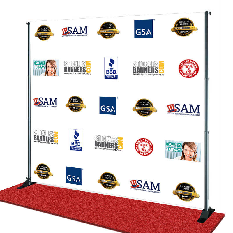 Step And Repeat Banner Template