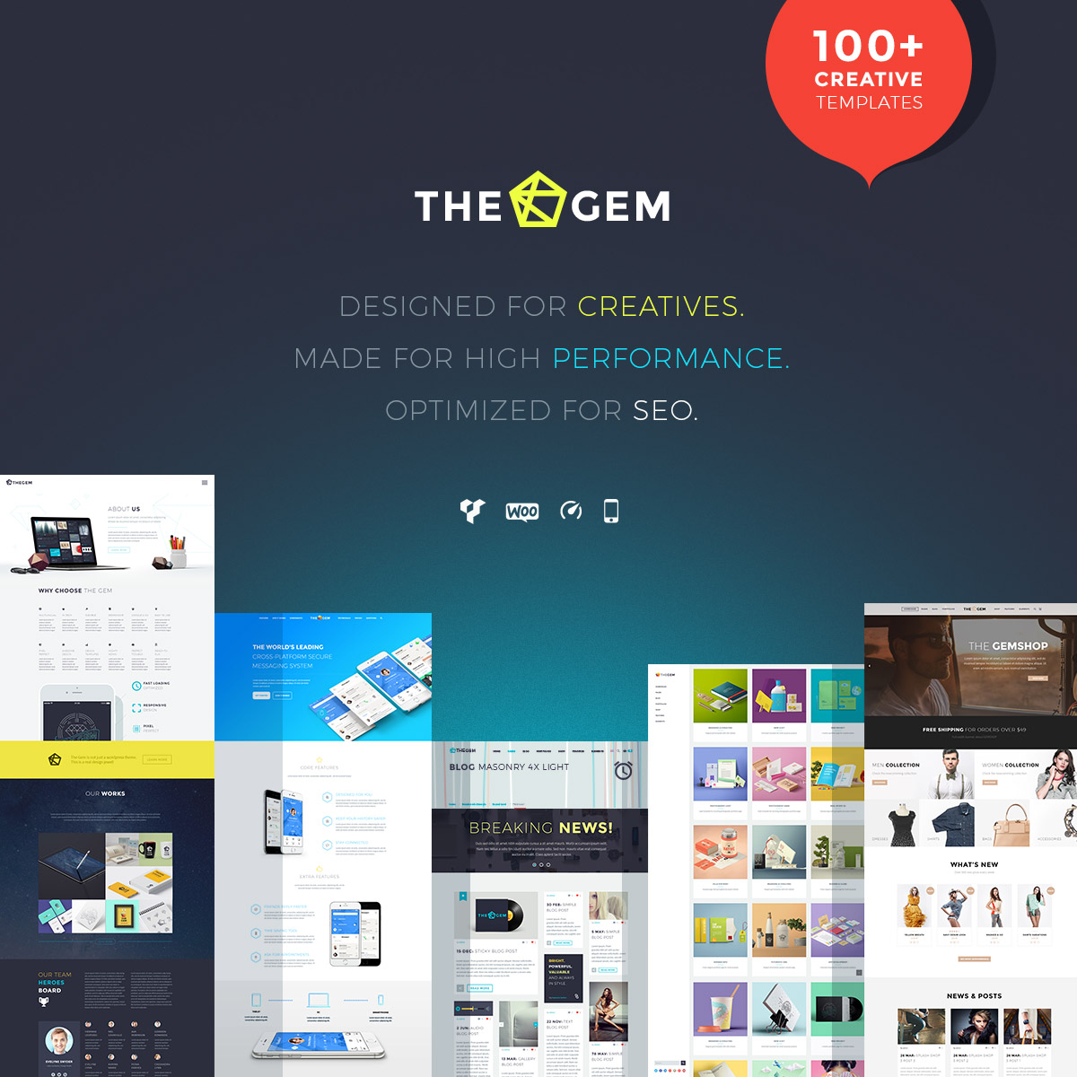 The Gem WordPressTheme
