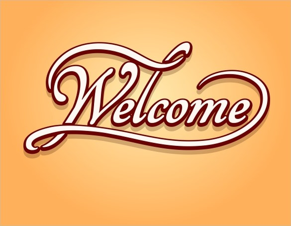 Welcome Banner Template