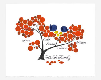 custom family tree