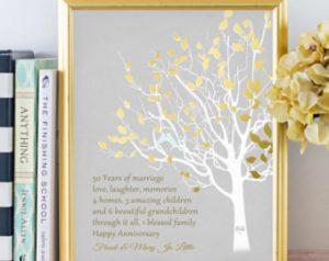 golden Aniversary family tree