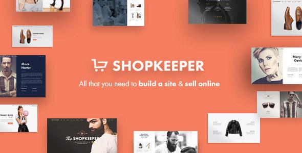shopkeeper woocommerce theme