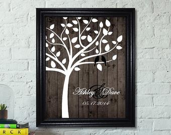 wedding gift family tree