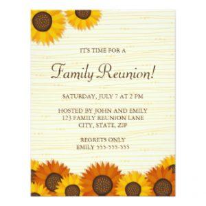 Family Reunion invitation template