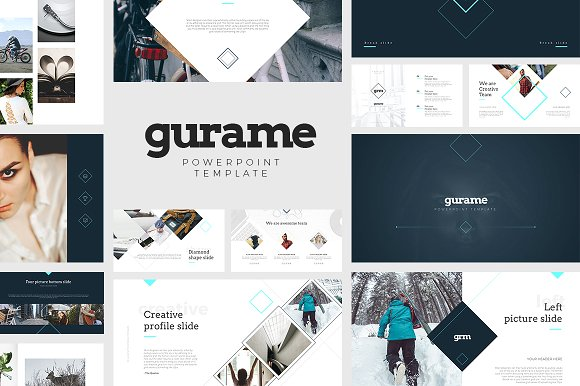 Gurame powerpoint template