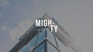 Mighty powerpoint template