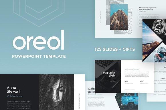 Oreol Powerpoint Presentation Template