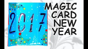 magic new year card