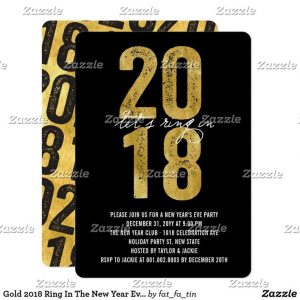 new year invitation template